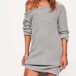 Misguided sweater dress